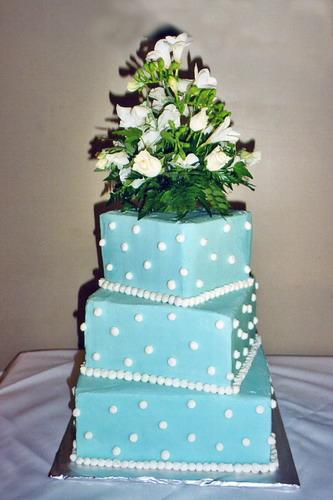 Polka Dot Wedding Cakes Pictures