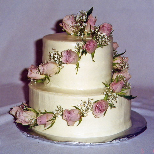 Cake Ideas For Small Wedding : Small Wedding Cake Ada of Course!